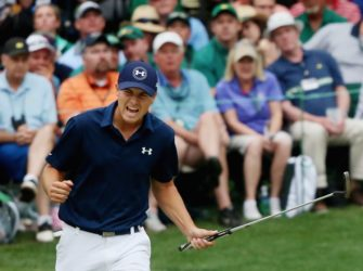 golfing final round of The Masters